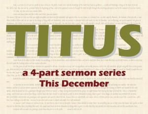 Titus Sermon Logo
